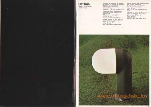 Artemide Catilina Garden Lamp, Design: Sergio Mazza