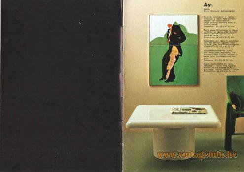 Artemide Ara Side Table, Design: Emma Gismondi Schweinberger