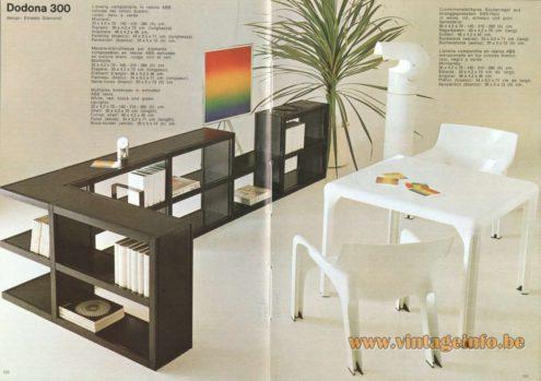 Artemide Dodona 300 Bookcase, Design: Ernesto Gismondi