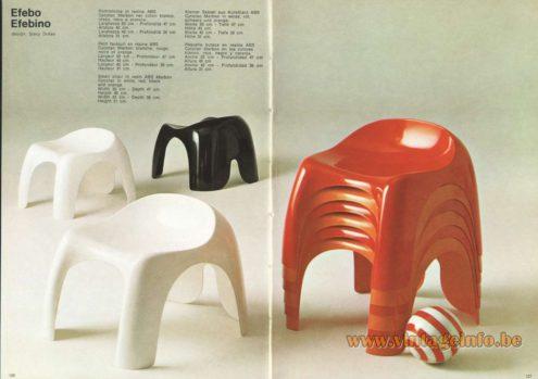 Artemide Efebo Efebino Seat, Design: Stacy Dukes