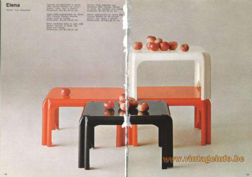 Artemide Elana Side Table, Design: Vico Magistretti