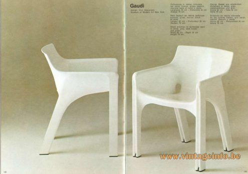 Artemide Gaudì Chair, Design: Vico Magistretti