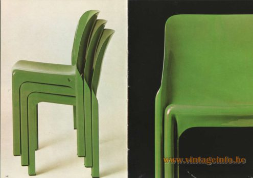 Artemide Selene Chair, Design: Vico Magistretti