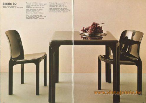Artemide Stadio 80 Table, Design: Vico Magistretti