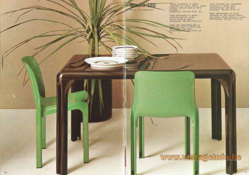 Artemide Stadio 120 Table, Design: Vico Magistretti