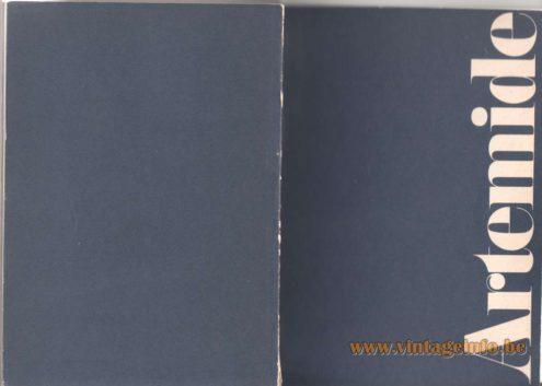 Artemide Catalogue 1976 - cover