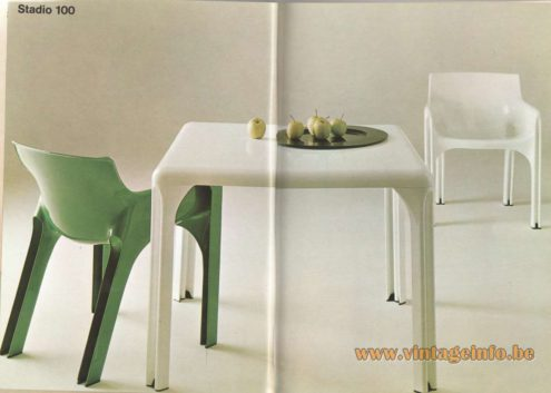 Artemide Catalogue 1976 - Stadio 100, design Vico Magistretti