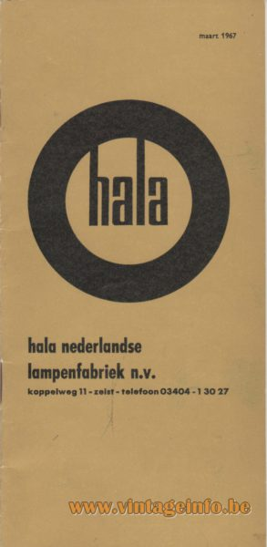 Hala Catalogue March 1967 - front