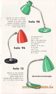Hala Licht Catalogus 1959