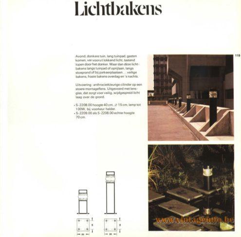 Raak Outdoor Lighting (buitenverlichting in dutch) 'Lichtbakens' S-2208, S-2209