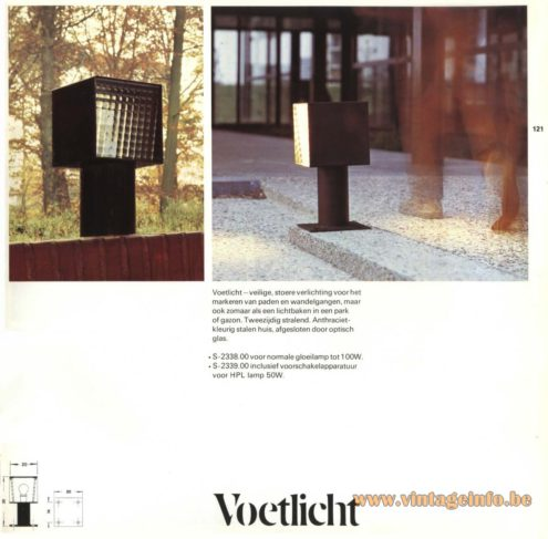 Raak Outdoor Lighting 'Voetlicht' - S-2338, S-2339