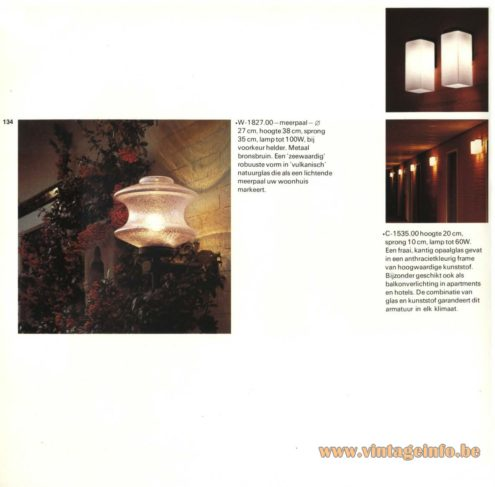 Raak Outdoor Lighting - W-1827, C-1535