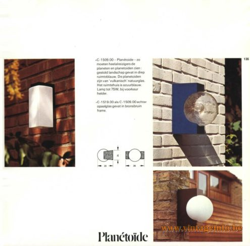Raak Outdoor Lighting 'Planétoïde' - C-1509, C-1519