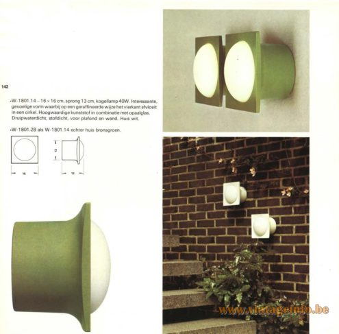 Raak Outdoor Wall Lighting - W-1801