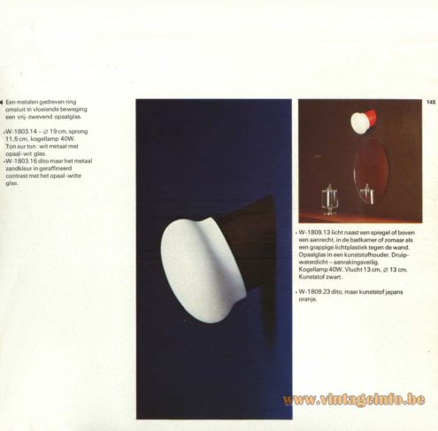 Raak Wall Light - W-1809