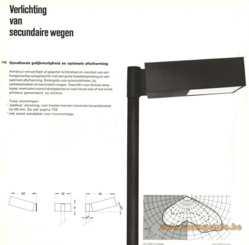 Raak Outdoor Lighting Of Secondary Roads - (Verlichting van secundaire wegen)