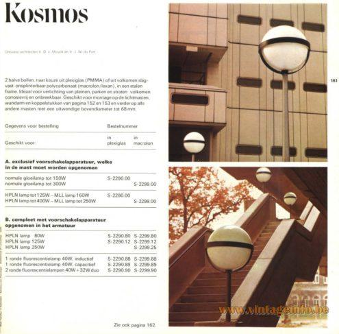 Raak Outdoor Lighting 'Kosmos' - S-2290, S-2299