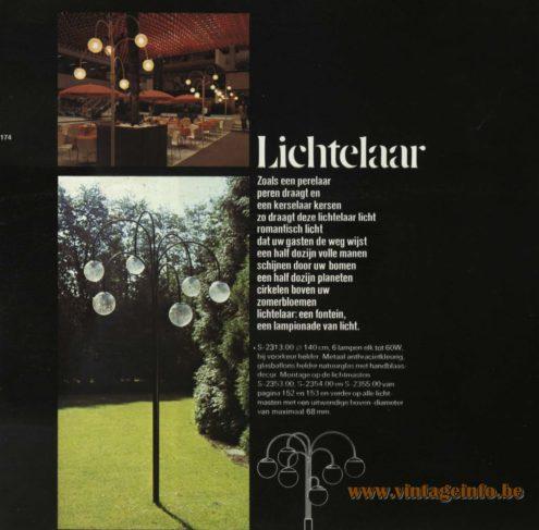 Raak Outdoor Lighting 'Paalkop' - 'Lichtelaar' - (Pole-Head - Light Tree) S-2313, S-2353