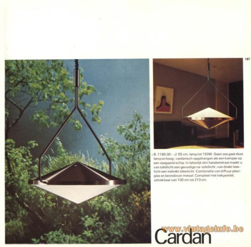 Raak Pendant Light 'Cardan' - B-1180.00
