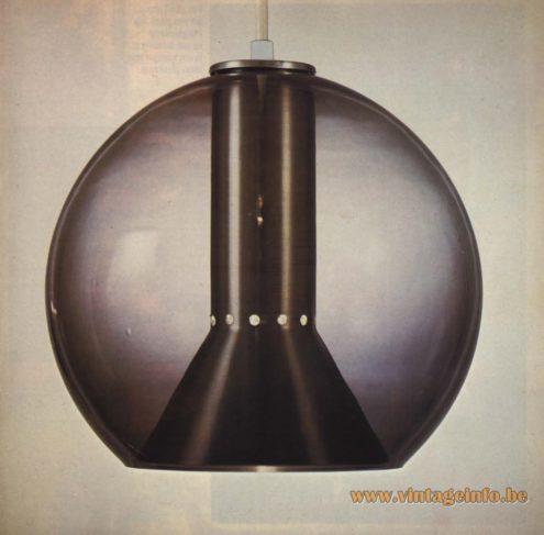 RRaak Pendant Light 'Globe' or 'Globe 2000' designed by Frank Ligtelijn