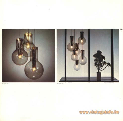 Raak Chandelier - Pendant Lights 'Maxi Gloeilamp' (maxi light bulb)