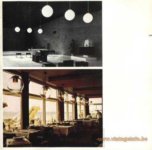 Raak Chandelier - Pendant Lights B-1219.00, B-1357.00