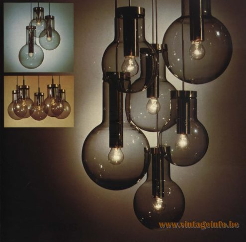 Raak Chandelier - Pendant Lights 'Composities' (compositions) Maxi Globe