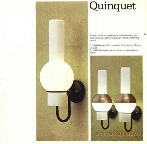 Raak 'Quinqet' - C1664, C-1666