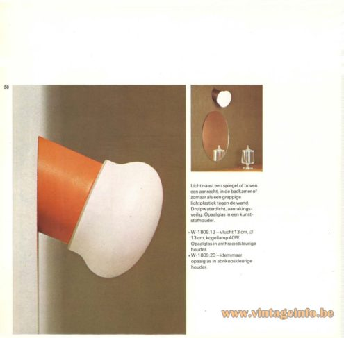 Raak W-1809 Wall Light