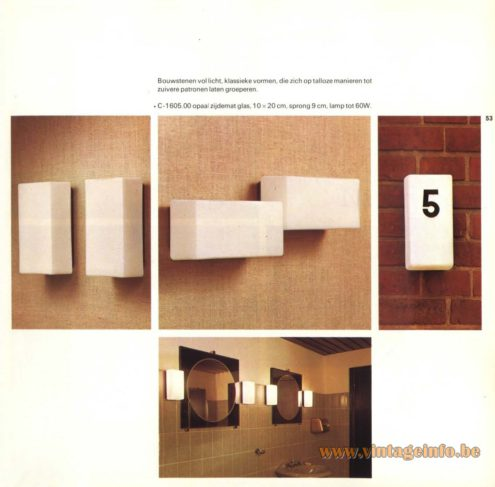 Raak Wall Light - C-1605