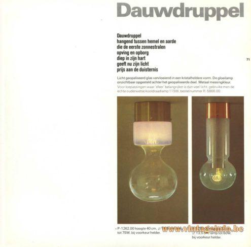 Raak Dauwdruppel P-1262, P-1270 (dewdrop)