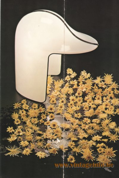Stilnovo Papero Table Lamp, design Celli e Tognon - 1972
