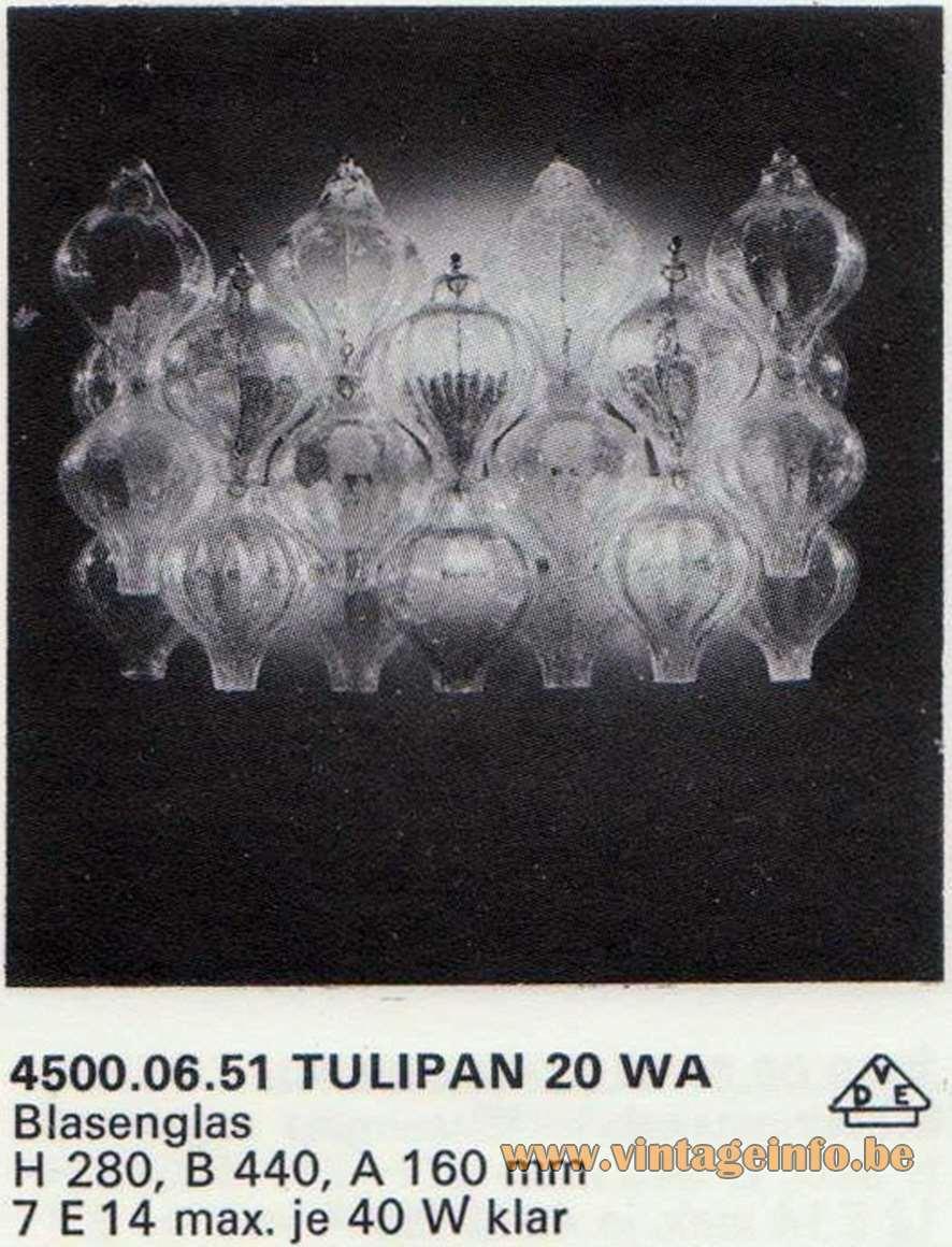 Kalmar Tulipan 20 WA - 1972 Catalogue