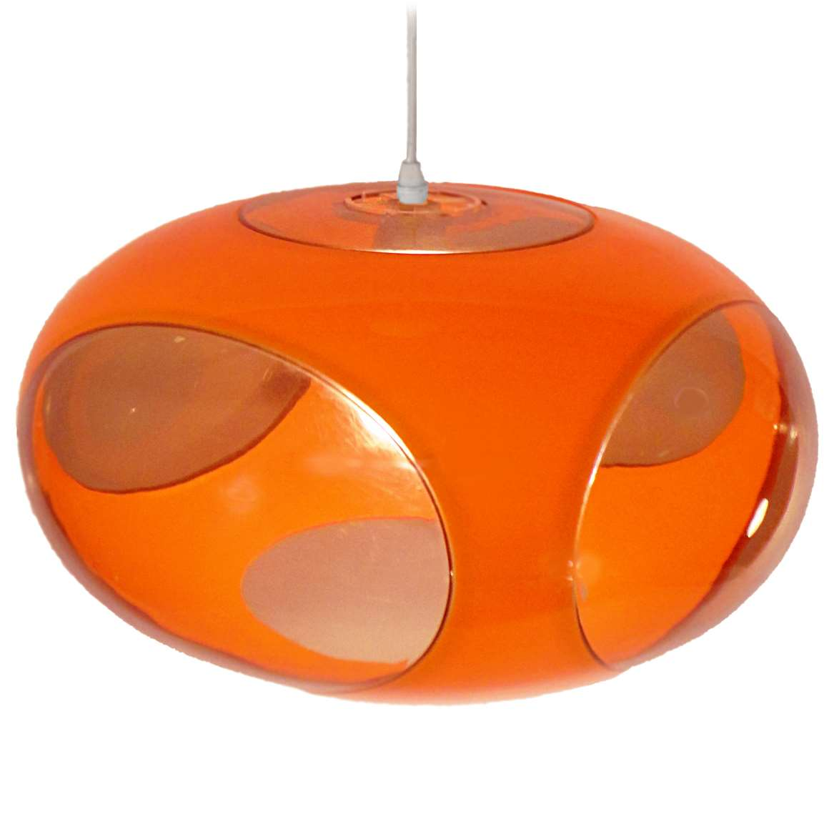 luigi colani ufo pendant light vintage info all about vintage lighting. Black Bedroom Furniture Sets. Home Design Ideas