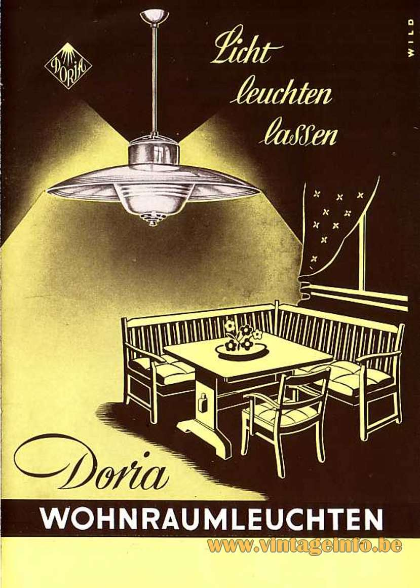Doria Publicity from the 1950s