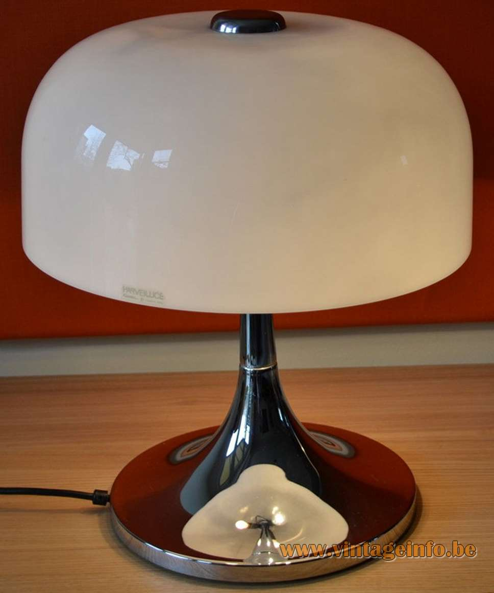 Harvey Guzzini Medusa Table Lamp - different lampshade, same base