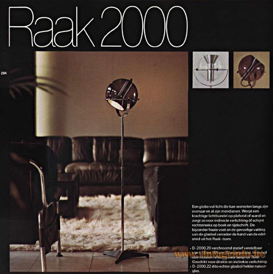 Raak Globe Floor Lamp –Vintage Info – All About Vintage Lighting