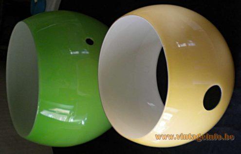 AV Mazzega Eclips Pendant Light - in parts