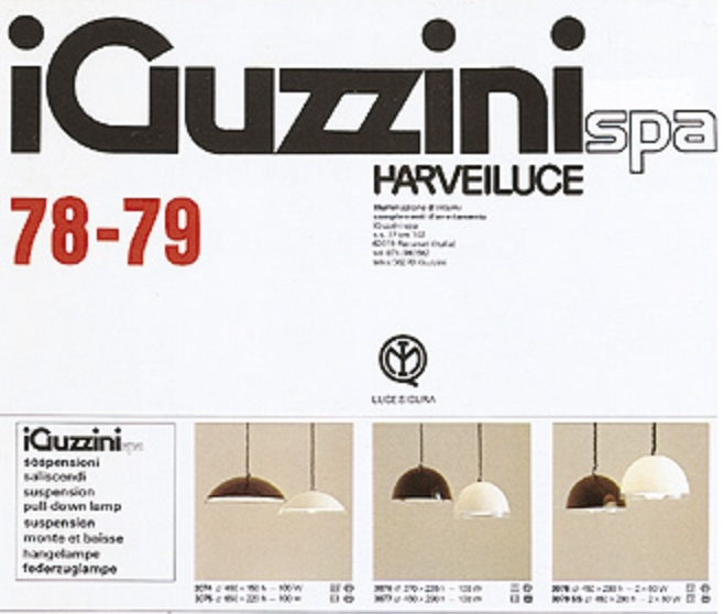 iguzzini catalog 78 79 vintage info all about vintage. Black Bedroom Furniture Sets. Home Design Ideas