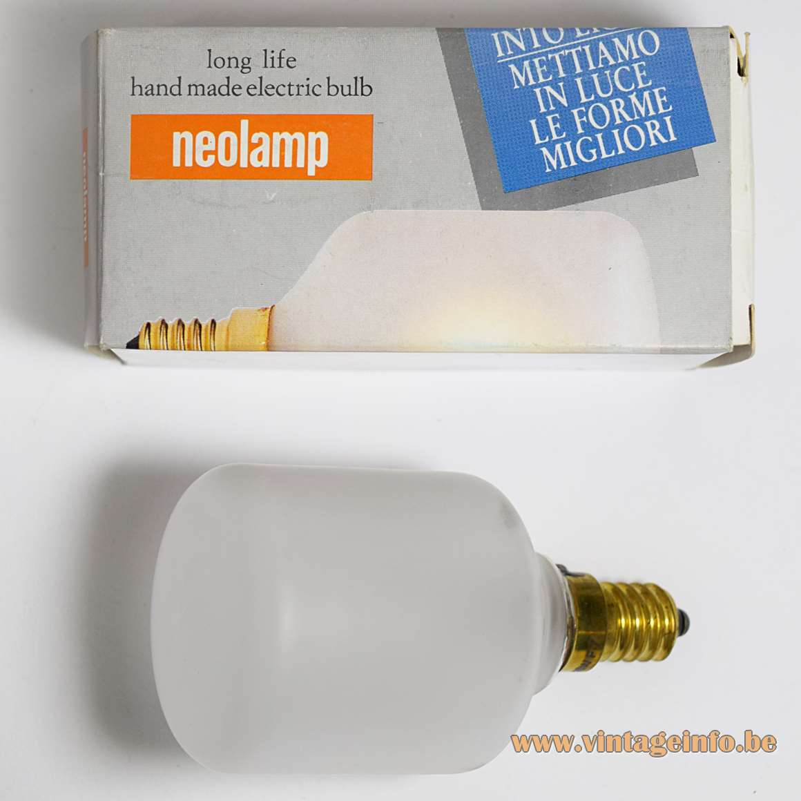 Neolamp Italy Sirio Sattinata 220 volt - 25 Watt