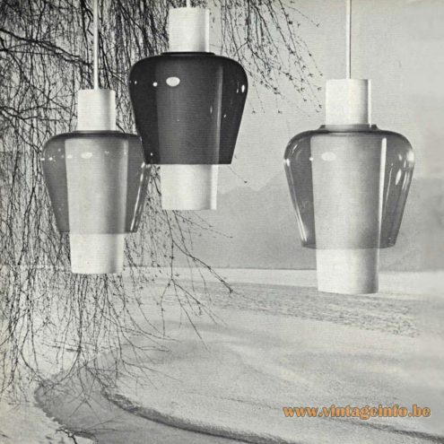 Raak Suomi Pendant Lights - Catalogue 5 - 1962