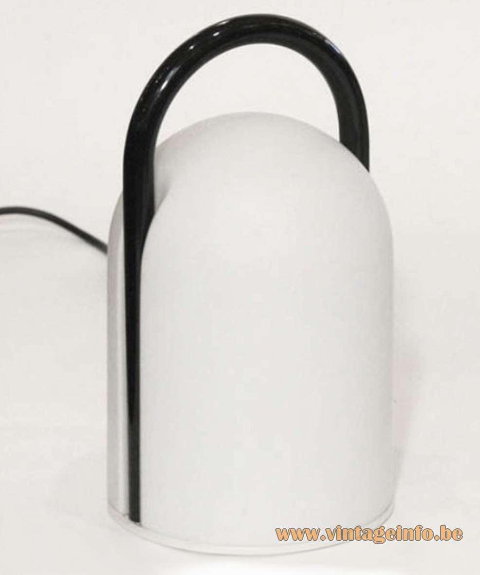 Romolo Lanciani - Tender Table Lamp - Tronconi - Black Handle