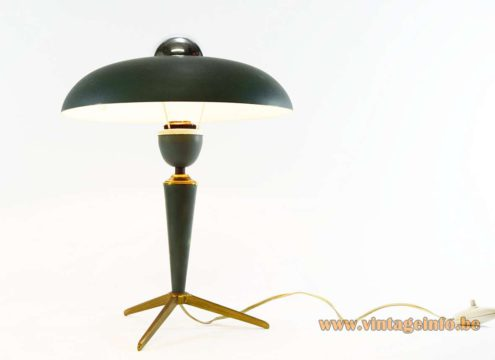 Louis Kalff Bijou Table Lamp 1950s