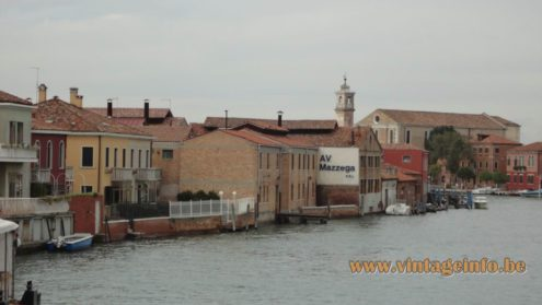 AV Mazzega factory on the Murano island