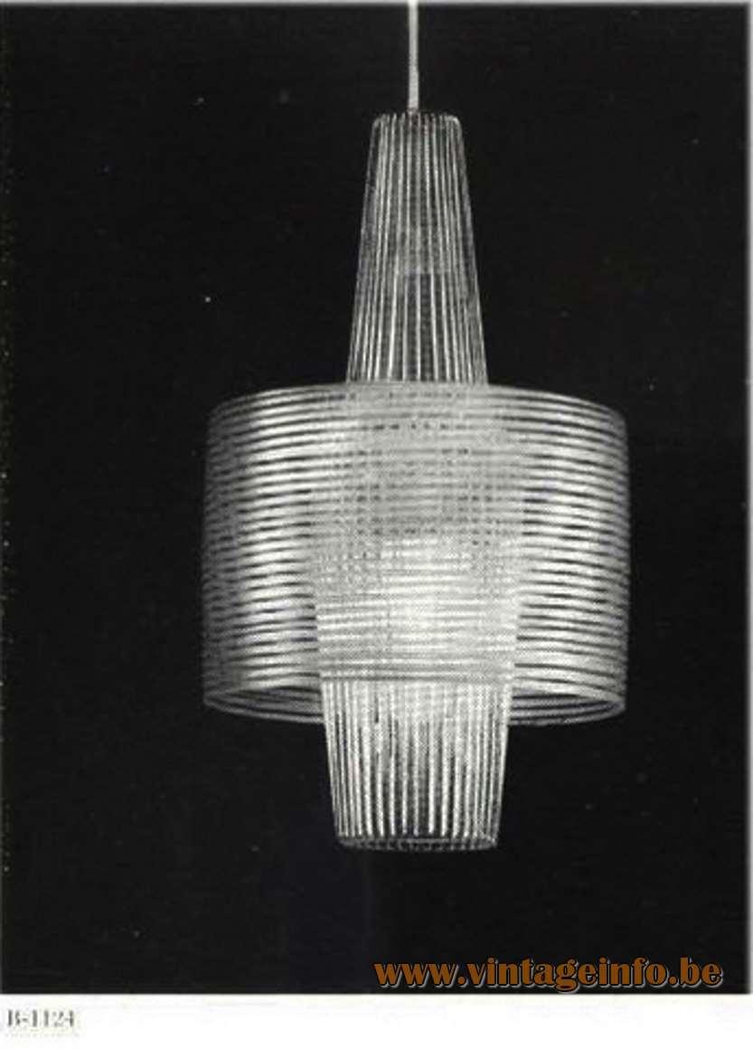Aloys Ferdinand Gangkofner Pendant Light Raak B-1124