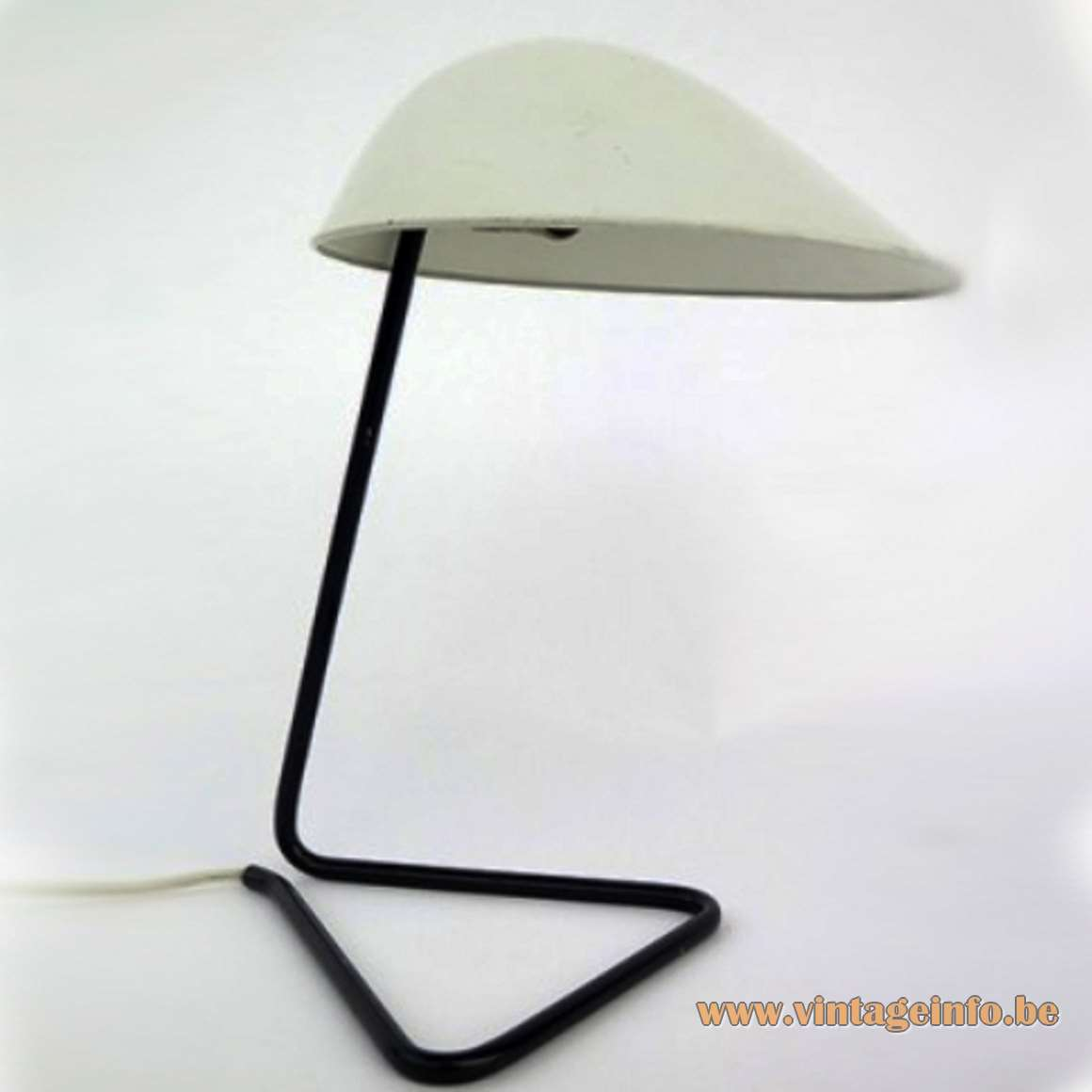 BAG Turgi Switzerland Desk or Wall Lamp 1950s