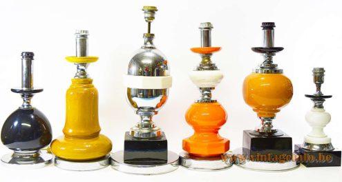 Italian Ceramic Table Lamps