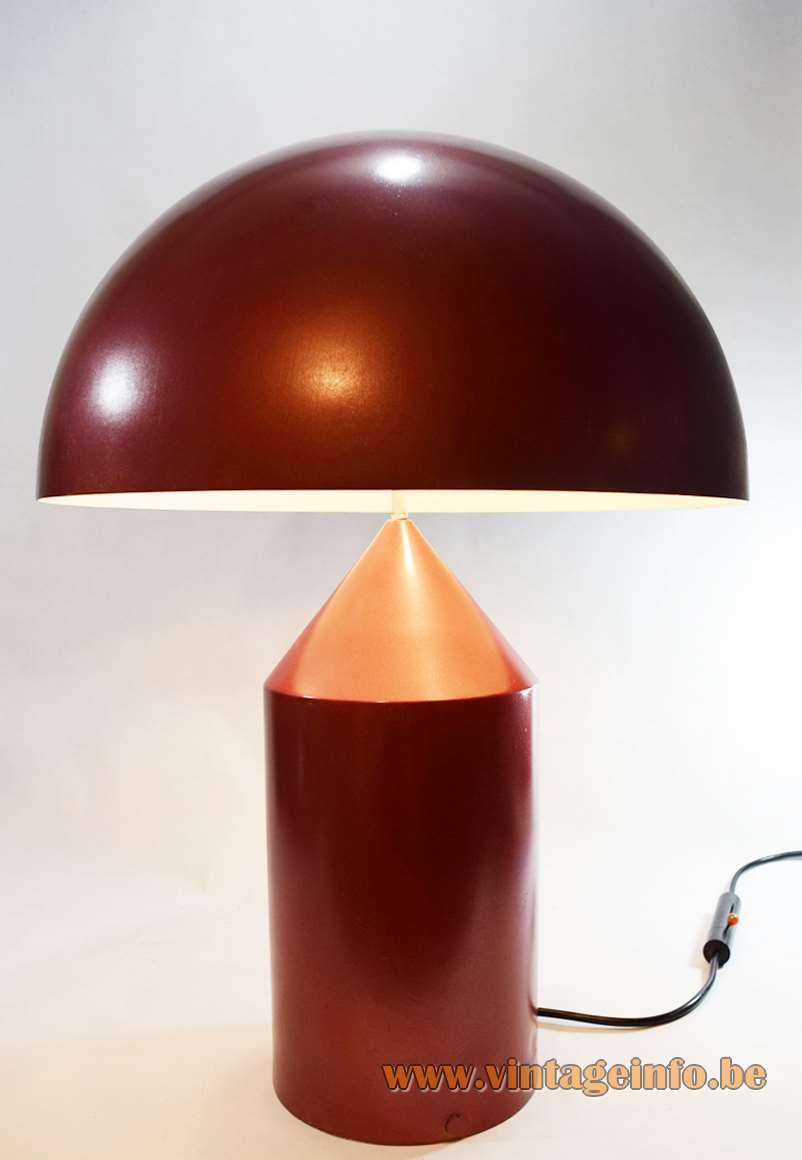 Oluce Atollo Table Lamp Model 233 - 1977