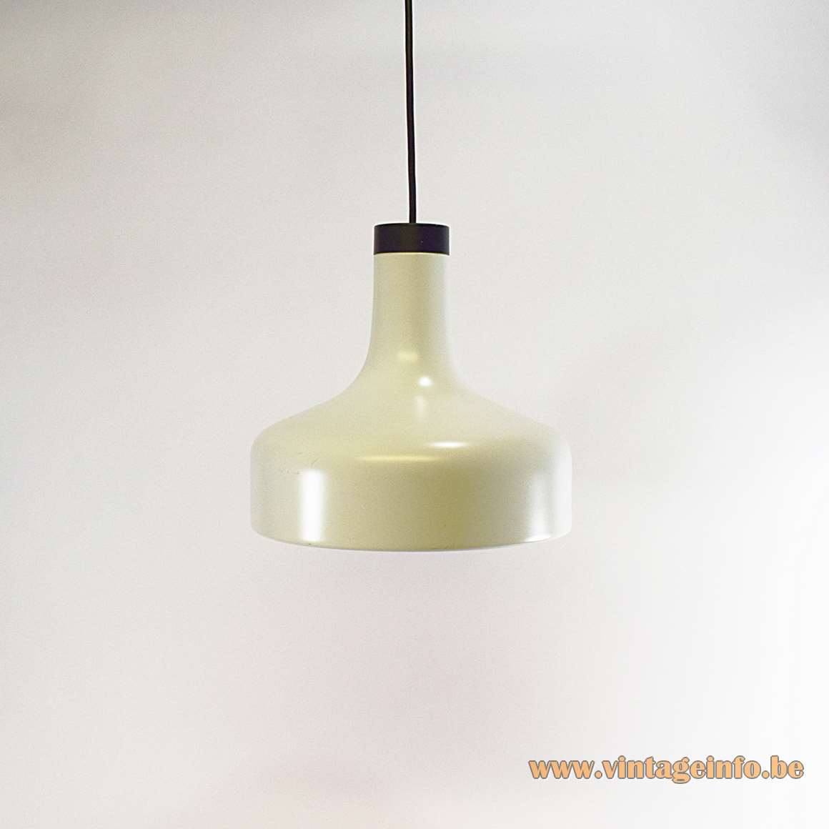 Staff White Metal Pendant Light