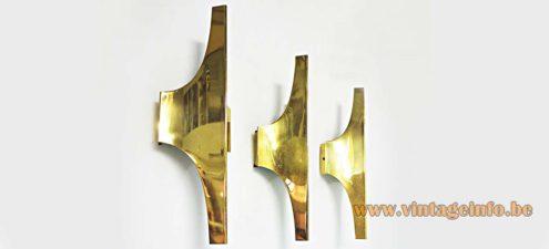 Doria Wall Lights - Brass Version